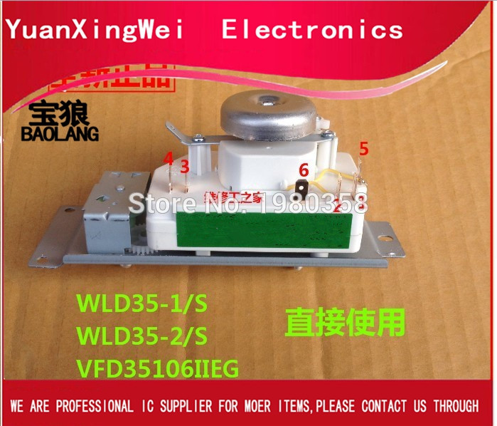 HOT NEW WLD35-1/S Microwave oven timer=WLD35-2/S WLD35 WLD35-1 WLD35 Time relay(China)