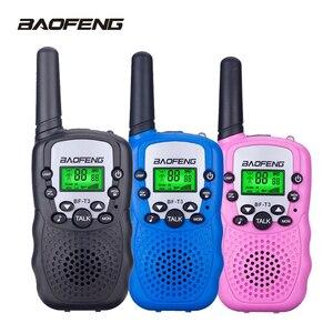 Image 1 - 2 шт. Baofeng Мини Портативная рация для детей 2 Вт двухстороннее радио портативный детский приемопередатчик игрушки радио подарок T3 BF T3