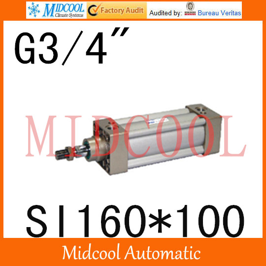 SI series ISO6431Standard cylinder SI160*100  port 3/4 bore 160mm Adjustable cylinder iso 100 в перми