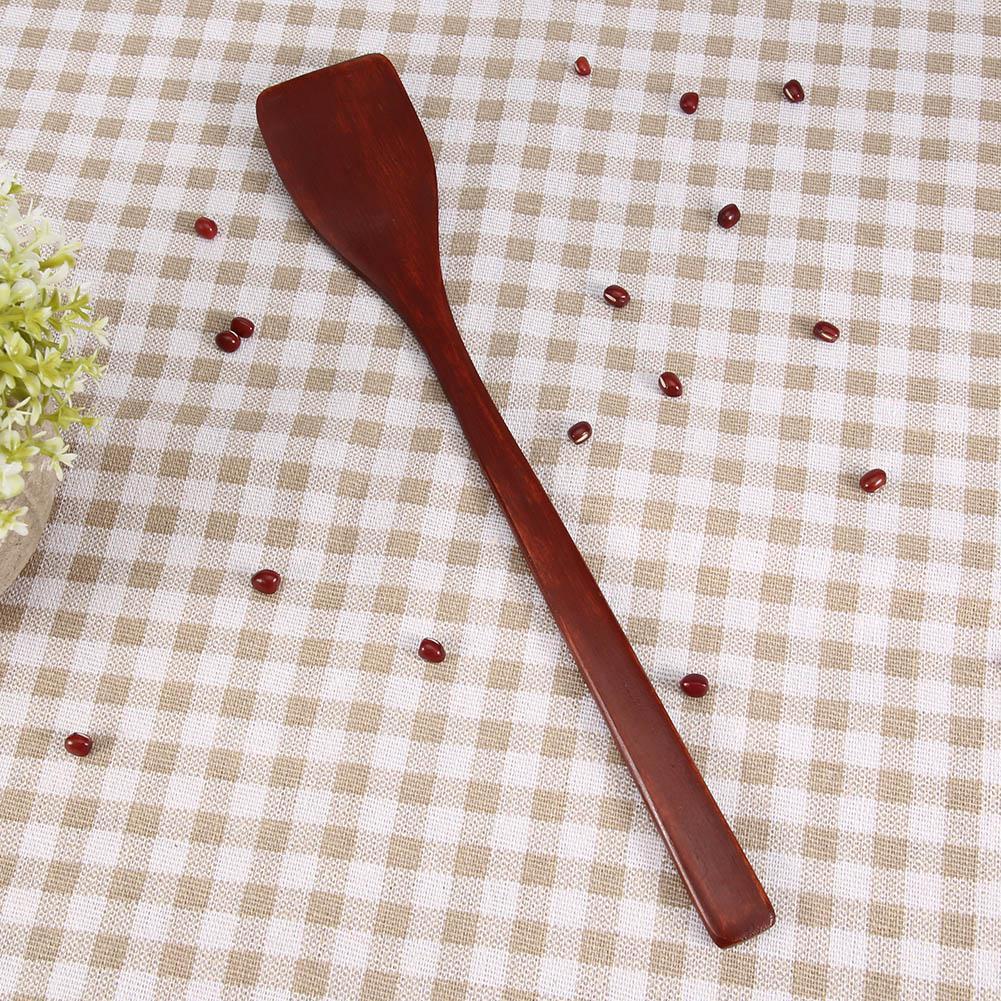 Нет-палка деревянная лопатка Тернер мини жареные кухонная лопатка кухни посуда Лопата для домашнего использования