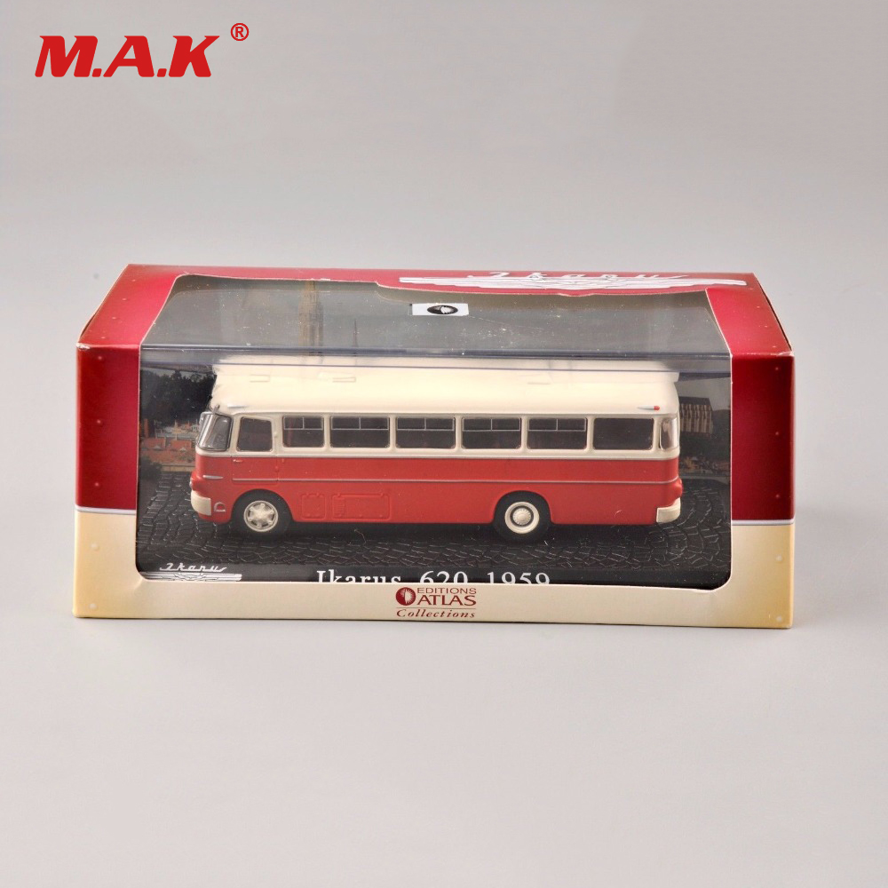 For Collectible Tram 1/72 Scale Diecast Model 1:72 Scale Diecast 620 1959 Bus Car Model Toy Collectible kids toys