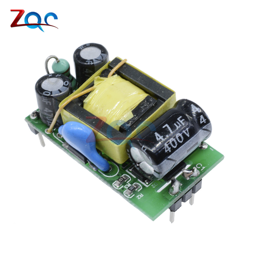 AC-DC 5V 500mA Switch Switching Power Supply Buck Converter Step Down Module Adaptor Transformer Small Size