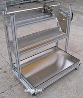 Samsung Feeder Storage Cart CP Model L1000 W600 H1200 For SMT Pick And Place Machine