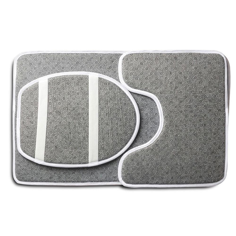 HUGSIDEA 3Pcs / Set vāka tualetes sēdekļa pārsega pjedestāla - Mājsaimniecības preces - Foto 4