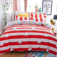 Home Textiles,a lot of stars style bedding sets 3/4Pcs of King queen full twin size duvet/quilt cover bed sheet pillowcase