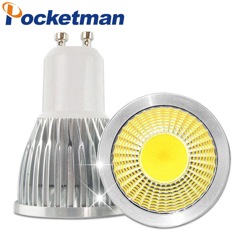 15w 10w 7w spotlight cob gu10 bulbs led light lamp dimmable 85 265v spotlight lamparas de. Black Bedroom Furniture Sets. Home Design Ideas