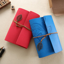 лучшая цена New Notebooks and Journals 80 sheets Kraft A6 Sketch Leather diary Spiral note book paper office & school supplies gift