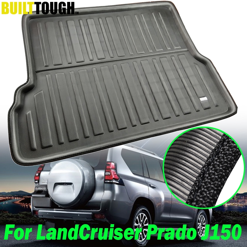 For Toyota Land Cruiser Prado J150 150 7-Seats 2010 - 2019 Boot Cargo Liner Tray Trunk Mat Floor Carpet 11-2013 2014 2015 2016