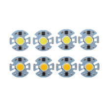 5pcs/lot LED Lamp COB Chip 9W 7W 5W 3W Real Power 220V Input Smart IC DIY For Spotlight Floodlight White WarmWhite(China)