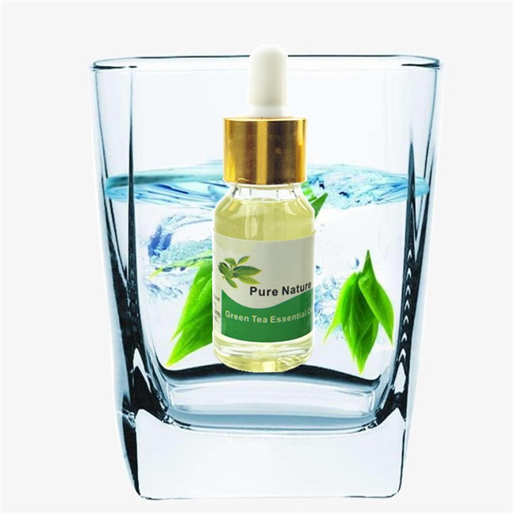 Galleria fotografica Discounted Green Tea Anti cellulite 7 Days slimming Essential oil fat burn potent lose weight burning fat cream 5/10/15ml