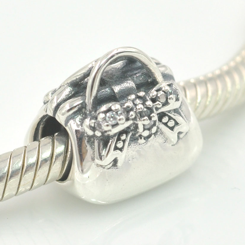 2017 New Original 925 Sterling Silver Charms Sparkling Handbag Charm Beads Fits Pandora Bracelet Diy Jewelry Making On Aliexpress Alibaba Group