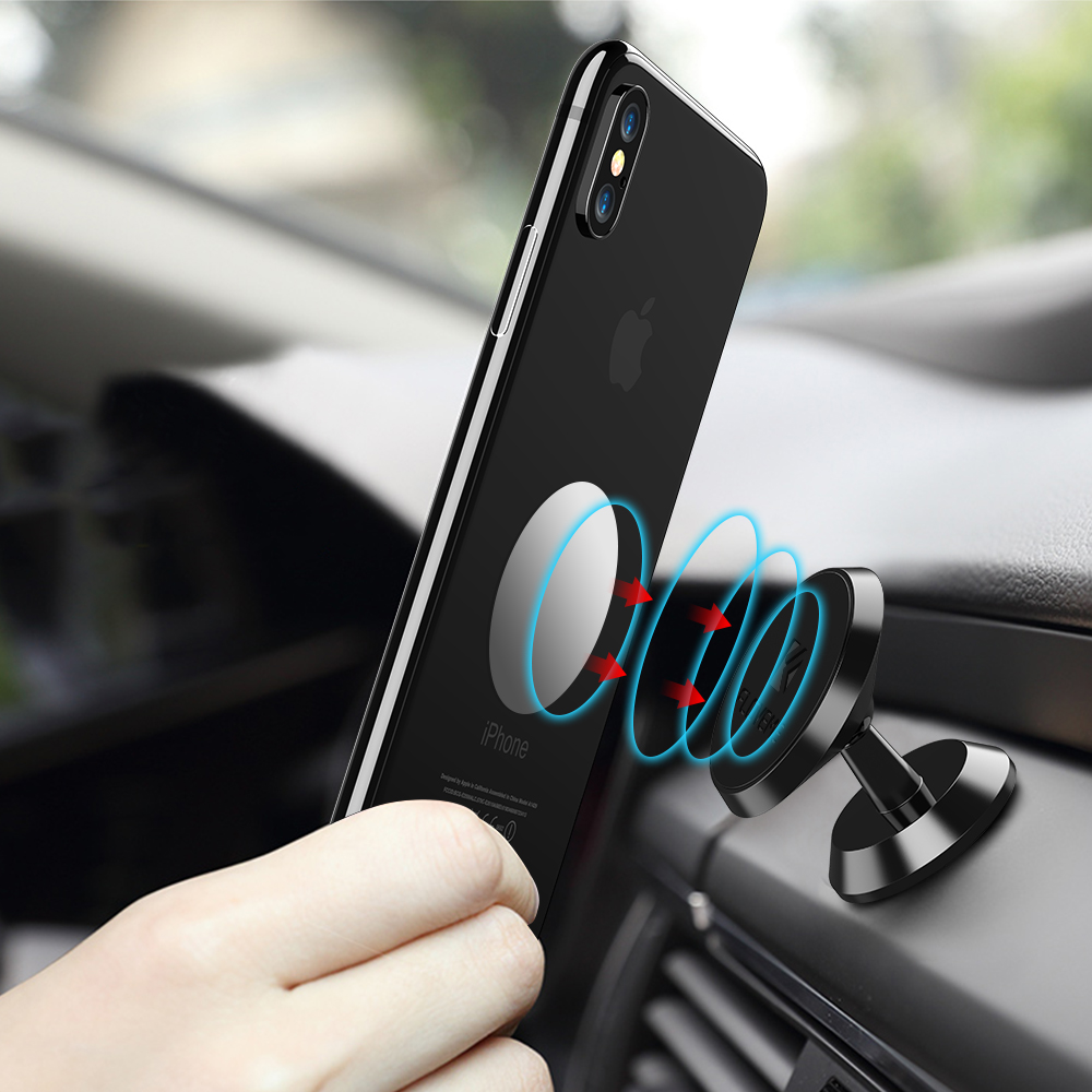 ROCK Magnetic Car Phone Holder, Mini Air Vent Outlet Mount
