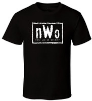 Quality Print New Summer Style Cotton nwo letter printed T-Shirt New World Order black o neck T-Shirt for man