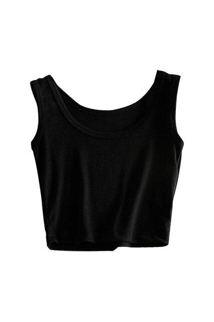 b36e50de7bd Hot Hot Sale Women Tank Crop Tops Summer U-neck Cute Tops Short Fitting Vest