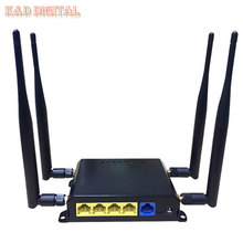 300Mbps OpenWRT 4G Wireless WiFi Router With SIM Slot Support HSPA UMTS TD LTE FDD LTE
