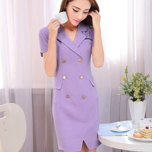 d09f12aa7c placeholder Summer office dress Women elegant Business work wear Dress  Elegant Formal Dresses sexy party dresses plus