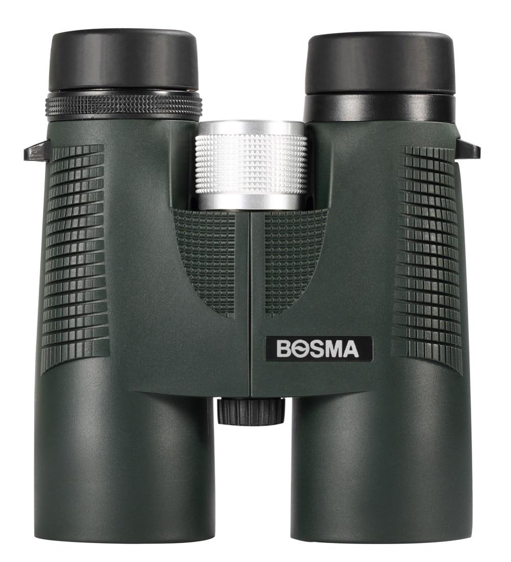 Bosma NIMROD Fully Multi-coated HD BaK4 Roof Prism Fogproof 10X42mm Binoculars for Hunting Birding Outdoor Sports,Telescope