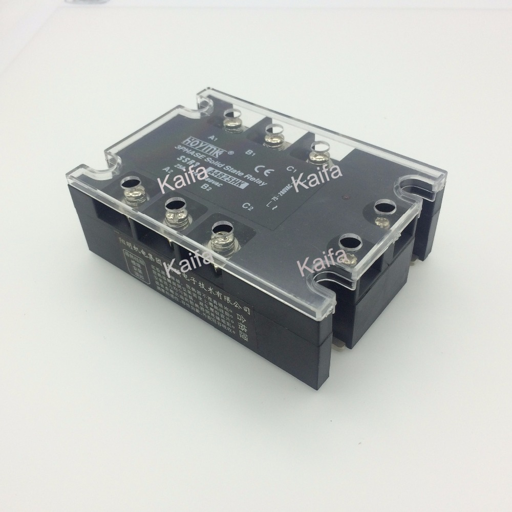 wholesale genuine Solid State Relay SSR3-A4825HK 25A 24-480VAC normally open single phase solid state relay ssr mgr 1 d48120 120a control dc ac 24 480v