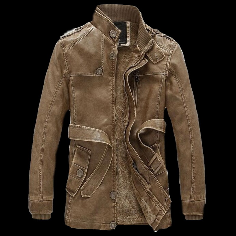 VXO Men's Leather Jacket Jaqueta De Couro Masculina Mens Stand Collar Leather Jackets Coats Brand Motorcycle Leather Jacket Men