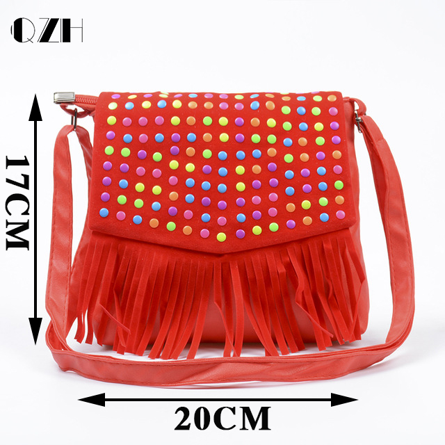 Children Tassel Handbags S Small Shoulder Bag Kids Messenger Bags Mini Coin Purses Toddler Wallet In Top Handle From Luggage On