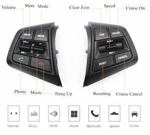 Image 3 - PUFEITE Für Hyundai ix25 (creta) 1,6 L 2,0 L Lenkrad Tempomat Tasten Remote Volumen taste schalter auto zubehör