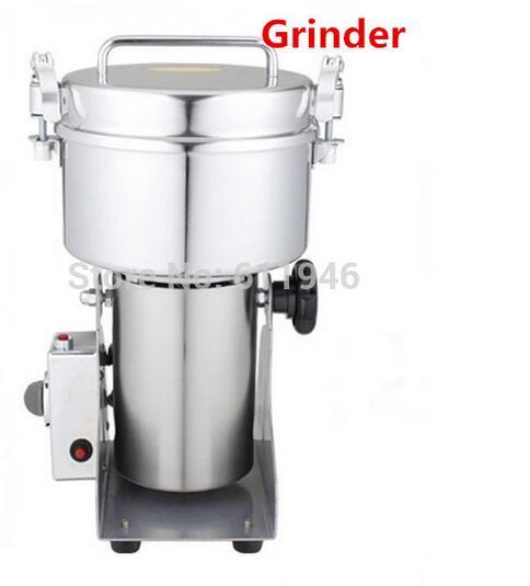 Ev Aletleri'ten Mutfak Robotları'de YB 1000A 1000G salıncak değirmeni Çok fonksiyonlu çay/baharat öğütme makinesi/küçük yüksek hızlı toz değirmen makinesi 3100 w 110/220 V 1 pc title=