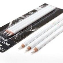 Профессиональные белые карандаши для рисования, 3 шт., стандартные карандаши для рисования, набор для школы, инструмент для рисования, товары для рукоделия