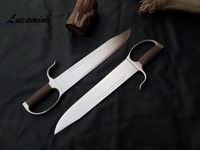 Wing Chun Butterfly Swords Traditional big head Martial arts Bart Cham Dao All full stainless steel narrow head butterfly swords