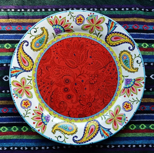 Earendil/Bohemian amorous feelings of ceramic tableware mina snack plate/decorative plate  sc 1 st  AliExpress.com : red decorative plates - pezcame.com