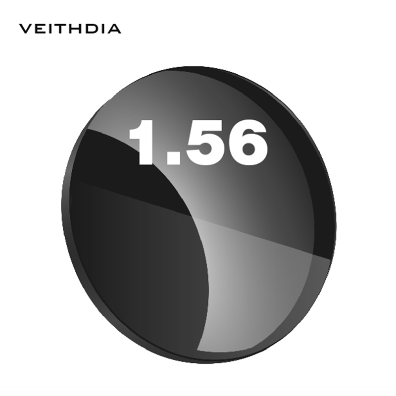 1.56 Index Single Vision For Myopia 0.00-4.00, Astigmatism 0.00-2.00 Degree Aspherical Sunglasses