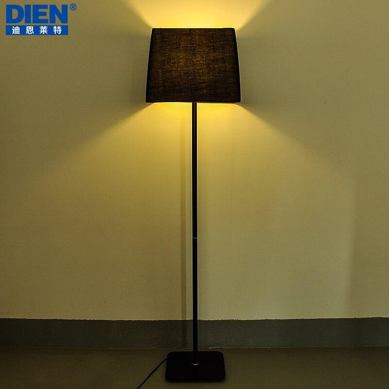 nordic creatieve persoonlijkheid ikea vloerlamp vloerlamp zwart