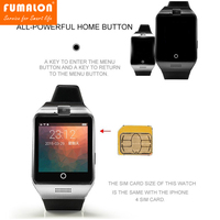 A Pro Smartwatch Bluetooth Smart Watch For Android IOS Phone Support SIM TF Card SMS NFC