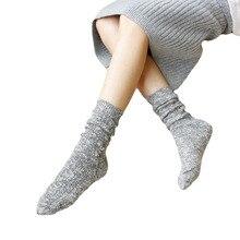 Korean High Quality Rabbit Fluffy Warm Loose Terry Sock Cotton Navidad Ladies Snowflake Winter Hosiery Women Thermal Socks Cute