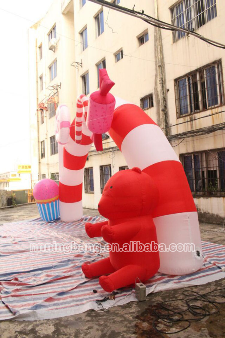 inflatable candy arch-