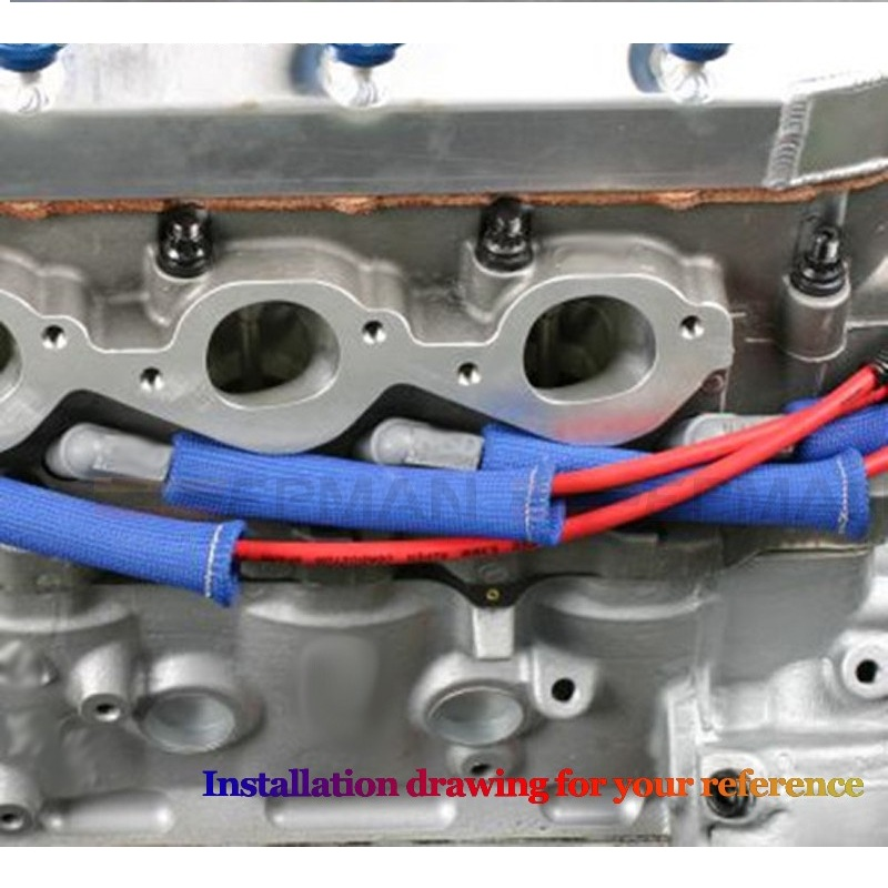 Cute Colored Wire Loom Engine Bay Images - Electrical Circuit ...