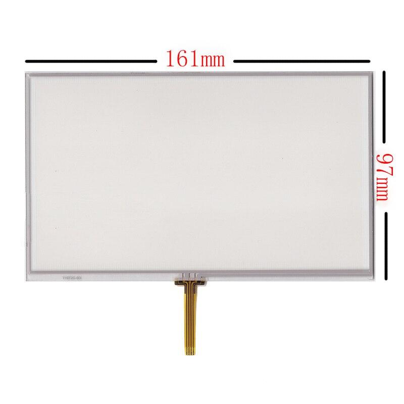 """7.0 """"дюймов 161*97 мм 4 Провода резистивный сенсорный Панель планшета Экран для eroda HD X10 X20"""