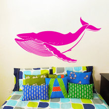 Hot Selling Whale Shark Fish Pattern Fashion Home Decor Styling Wall Sticker Living Room Art Design Decorative Mural Y-916