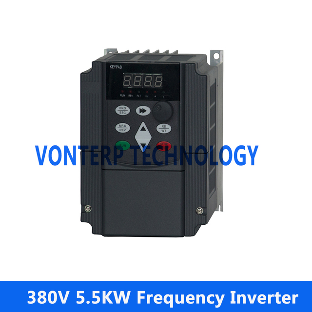 380v 3 phase variable frequency inverter ac drive for Variable speed controller for single phase motor