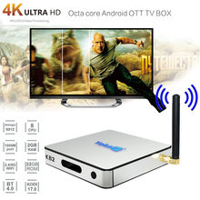 Fashion KB2 Android6.0 Smart TV Box WIFI BT4.0 Amlogic S912 Octa Core Dual Media Player Home Theater NT19(China)