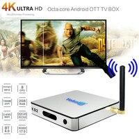 HIPERDEAL KB2 Android6.0 Smart ТВ коробка WI FI BT4.0 Amlogic S912 Восьмиядерный двойной Media Player дома Театр SY18