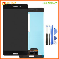 100% Tested NEW Display For Nokia 6 LCD Display with Touch Screen Digitizer Assembly Replacement Parts N6 For 5.5 Nokia 6 LCD