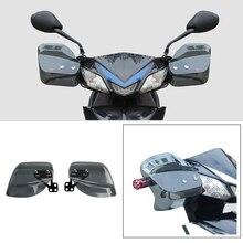 Kemimoto Universal Motorcycle Hand Guard Protective Shield Plexiglass