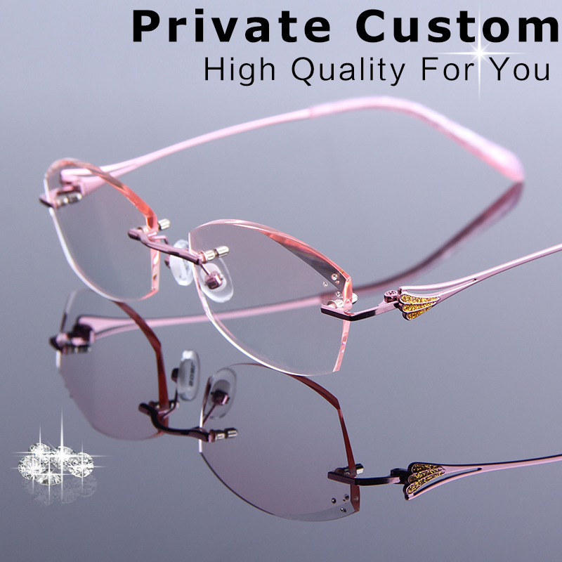 Ultra-light Rimless Stainless Steel Wire Leg Antireflect Reading Glasses 1.5 Analytical = Scober Brand = !two Pairs 1 2.5 3 3.5 2 4 Various Styles