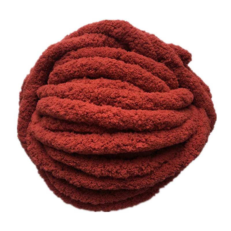 6balls lot 1500g super chunky chenille yarn thick wool yarn for arm knitting blanket winter warm