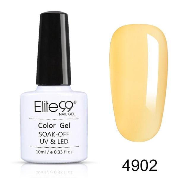Elite99 10ml Macaron Farbe UV Gel Semi Permanent Nail art Gel-Lack Maniküre Design Soak Off Gel Nagel polnischen Lack