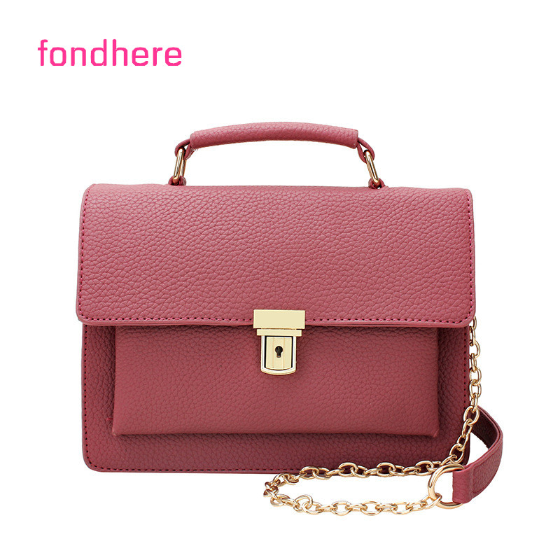 fondhere brand Casual Women Shoulder Bags Small Messenger Bags Lladies Retro Design Handbag Female Crossbody Bag