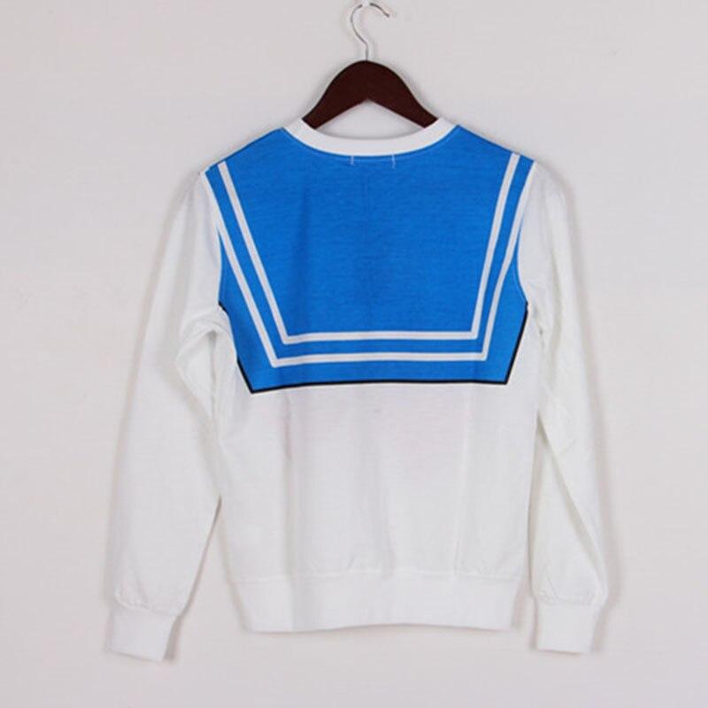 Новинка Сейлор Лунная рубашка Harajuku kawaii милый поддельный имитация Топ ролевые игры матросский костюм