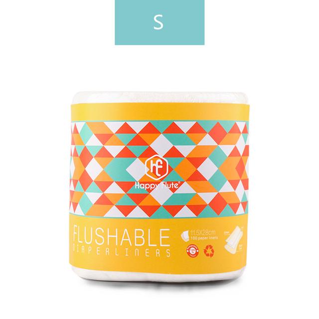Biodegradable X Flushable Diaper Liners
