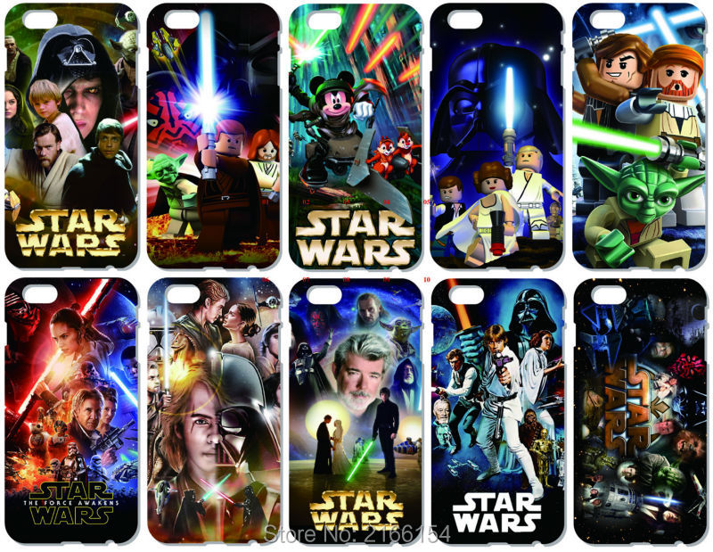 Star Wars Телефон чехол для iPhone 5 5S SE 5C 6 6 S 7 Plus Touch 5, 6 для Samsung Galaxy s3 S4 <font><b>S5</b></font> Mini S6 S7 Edge Примечание 3 4 5 Чехол