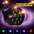 Новый Профессиональный LED Освещение Сцены 18 RGB PAR LED Dmx Эффект освещения DMX512 Master-Slave Led Квартира DJ Disco Party КТВ